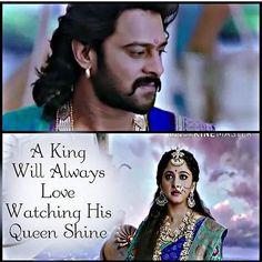 Real king and queen 😍😍😍😍😘😘Pranushka Epic Quotes, True Love Quotes, Inspirational Quotes, Bahubali Quotes, Darling Movie, Love Quates, Prabhas Actor, Prabhas And Anushka, Prabhas Pics
