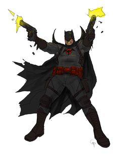 Flashpoint Batman by Godfrey Escota Batman Comic Books, Batman Art, Comic Books Art, Comic Art, Dc Comics, Batman Comics, Arte Nerd, Thomas Wayne, Star Trek