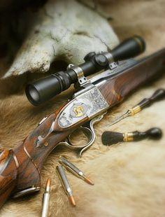 Dakota Arms Number 10 Falling block rifle in .308