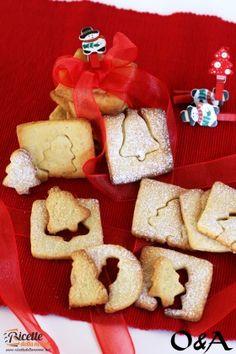 Biscotti di Natale alla panna e miele