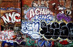 Graffiti wall (Manhattan, NY)