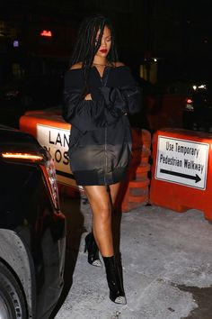 10-29-16 - Rihanna out and about in NYC