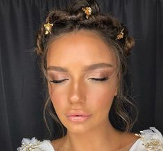 Amazing Wedding Makeup Tips – Makeup Design Ideas Natural Makeup For Teens, Natural Glam Makeup, Gorgeous Makeup, Pretty Makeup, Makeup Looks, Beauty Make-up, Beauty Hacks, Hair Beauty, Wedding Makeup Tips