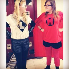 Luke and Michael (5SOS) superhero character homemade costumes from Don't Stop music video. #5sos