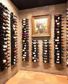 Acrylic Wine Rack : Chic modern custom wine racks winecellar collection of wine storage with custom wine storage paired wine storage system paired custom wine cellar. Custom wine rack winecellar collection of wine racks, wine rack paired acrylic wine ra Wine Rack Wall, Wine Wall, Home Wine Cellars, Wine Cellar Design, Wine Display, Wine And Liquor, Drink Wine, Wine Cabinets, Wine Storage