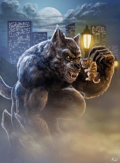 RRRRRRRRRRH!!! by vonwildenradt on deviantART ok not really one I care for cause I love cats but its a werewolf so its here.