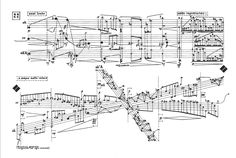 music - sounds Experimental music notation resources - score from master Karlheinz Stockhausen The M Oreille Absolue, Graphic Score, Music Manuscript, 20th Century Music, Experimental Music, Music Drawings, Music Score, Sound Design, Cartography
