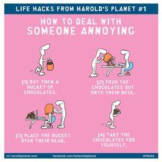 ★ Harold's planet life hacks ★