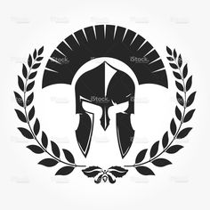 Gladiator with laurel wreath