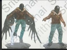 #ConceptArt for #TheVulture in #SpiderManHomecoming. Obviously early in the movie pre-costume.  #Vulture #SpiderMan #Homecoming #MCU #MichaelKeaton