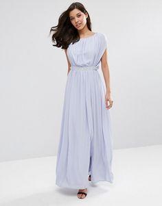 ASOS | ASOS Embellished Waist Maxi Dress