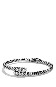 David Yurman 'Willow' Single Row Bracelet with Diamonds available at #Nordstrom