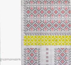 FolkCostume&Embroidery: Costume and Embroidery of Neamț County, Moldavia, Romania Embroidery Techniques, Embroidery Stitches, Embroidery Patterns, Beading Patterns, Fabric Patterns, Costume Patterns, Hama Beads, Cross Stitching, Romania