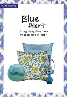 Exclusive Look by Nipa Blue Cushion Covers, Cushion Covers Online, Home Trends, Tea Light Holder, Tea Lights, Scrap, Navy Blue, Bring It On, Throw Pillows