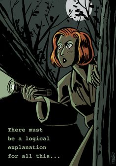 Dana Scully - The X-Files - Miklós Felvidéki