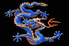 Chinese dragons - Google Search You may notice the difference between Chinese and Japanese Dragons. different number of toes and bodies somewhat different also.