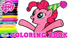 My Little Pony Coloring Book Pinkie Pie Party Pony Episode Surprise Egg ...