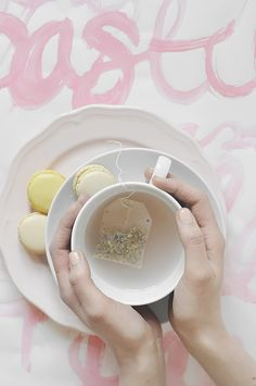Have tea, and let it be.