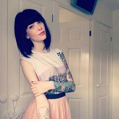 #tatto #follow me cortare asi el cabello <3