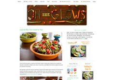 Healthy Vegan recipe blog with lots of great Raw recipie ideas http://ohsheglows.com