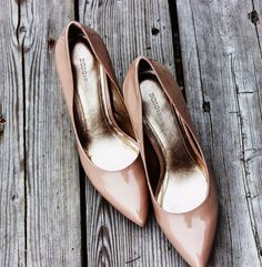Great nude pumps by BCBGeneration