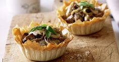 Feed the family these hearty chicken and leek pies.