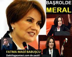 Fatma Madi  Babuşcu BAŞROLDE MERAL makalesini okumak için sitemizi ziyaret ediniz.
