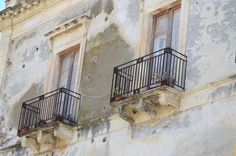 Fascinated by balconies