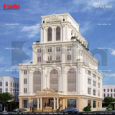 Home Doctor, Apartment Projects, Commercial Architecture, Neoclassical, Architect Design, Facade, Villa, Mansions, House Styles