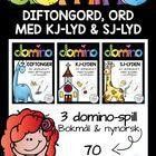 diftongord, ord med kj-lyd og sj-lyd (BM & NN) Learning Letters, Letter Sounds, Student Learning, Activities, Lettering, Beginning Sounds, Drawing Letters, Brush Lettering