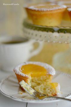 Financier Recipe, Lemond Curd, Cafe Menu, Sweet Pastries, Four, Mini Cakes, Delicious Desserts, Bakery, Cooking Recipes