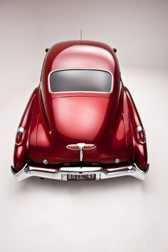 '49 Buick-this gave me a shiver-it's the color-it's always about the red