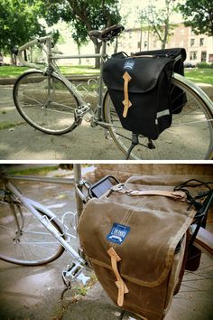 Cycle chic sunday: laplander bags.