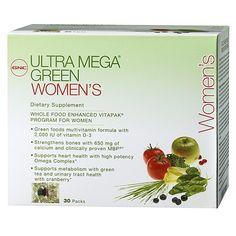 GNC Ultra Mega® Green Women's Vitapak