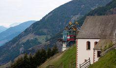 Alta Val Venosta, Itália.