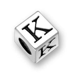 letter k bead