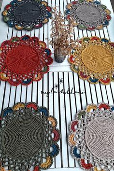 Crochet Fabric, Crochet Home, Crochet Gifts, Crochet Doilies, Crochet Flowers, Crochet Circles, Crochet Mandala, Freeform Crochet, Filet Crochet