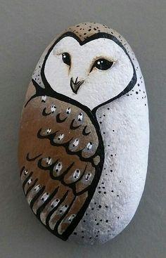 Barn Owl rock- http://lorileethomasart.weebly.com
