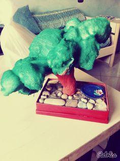 Fake bonsai.