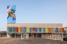 Groupe Scolaire Pasteur, estrutura em madeira, Limeil-Brévannes, França_2013_R2K Architectes