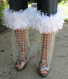 crystal chandalier feather rosebud jeans