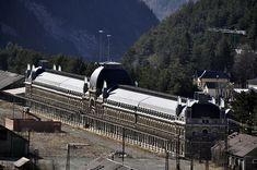 Estación internacional de Canfranc. Foto: Pirineum