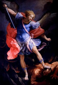 Saint Michael, St. Michael, Catholic Art, Religious Art, Catholic Religion, Image Jesus, Saint Esprit, Baroque Art, Angel Art