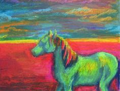 Oil Pastel Paintings | The art of oil pastel drawing - a gallery on Flickr