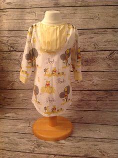 Shirt tail dress. Pattern is Savannah by peekaboo pattern shop