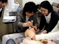 Tracheal Intubation Training Class 3 - (Japan) #SimMan