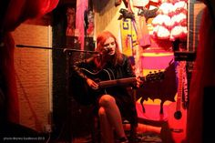 Rosie Carney performing at Pull The Plug