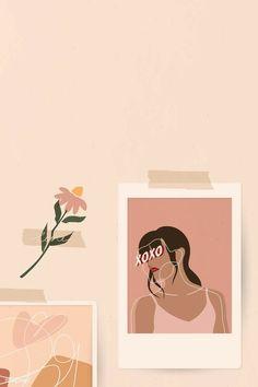 Wallpaper Pastel, Aesthetic Pastel Wallpaper, Kawaii Wallpaper, Cute Wallpaper Backgrounds, Aesthetic Wallpapers, Cute Wallpapers, Galaxy Wallpaper, Disney Wallpaper, Leaf Illustration