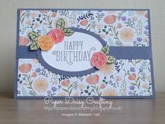 Paper Daisy Crafting: Happy Birthday Gorgeous from Stampin' Up! Birthday Cards For Women, Handmade Birthday Cards, Happy Birthday Cards, Greeting Cards Handmade, Special Birthday Cards, Birthday Images, Birthday Quotes, Birthday Greetings, Birthday Wishes