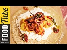Aubergine Daal & Homemade Chapattis | Jamie Oliver - YouTube